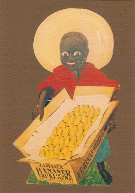 Foto: Iklan buah pisang import dari Jamaica